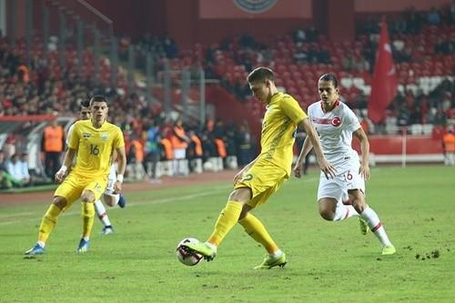 Турция - Украина - 0:0. Текстовая трансляция матча