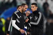 Джорджо КЬЕЛЛИНИ: «Роналду сможет играть до 40 лет»