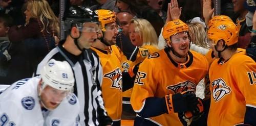 НХЛ. Битва лидеров, 7 шайб Калгари, победы Вашингтона и Виннипега