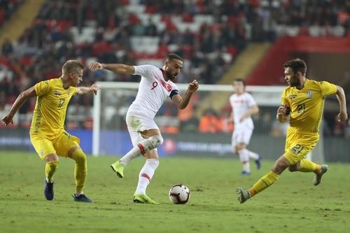 Турция — Украина — 0:0. Видеообзор матча