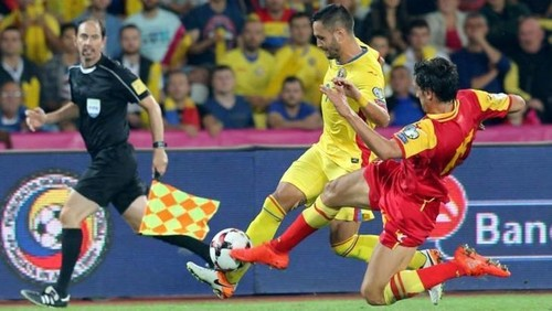 Черногория — Румыния — 0:1. Видео гола и обзор матча