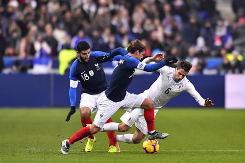 Франция — Уругвай — 1:0. Видео гола и обзор матча