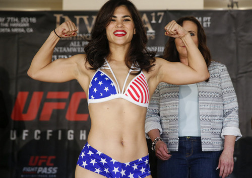 На бойца UFC Рэйчел Остович покушался ее муж