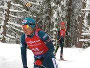 Юлия Джима выиграла контрольный спринт в Обертиллахе