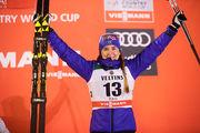 Белорукова выиграла этап КМ по лыжным гонкам