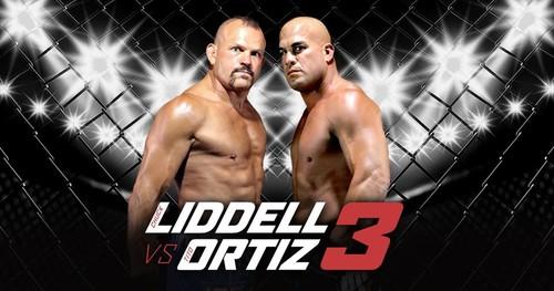 Где смотреть онлайн бой Чак Лидделл - Тито Ортис