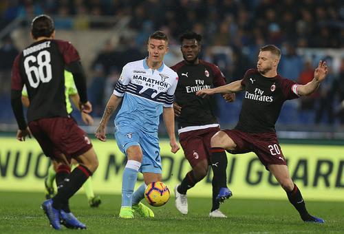 Лацио - Милан - 1:1.Текстовая трансляция матча