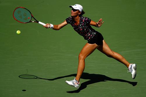 US Open. Калинина дала бой действующей чемпионке, но все же проиграла