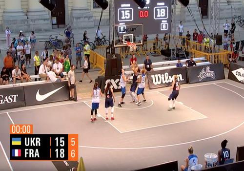 Жіноча збірна України 3х3 не зуміла вийти у фінал турніру в Угорщині