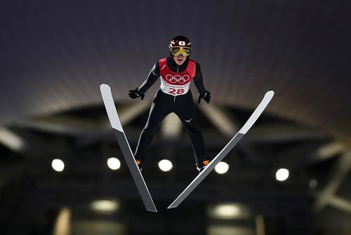 Рёю Кобаяси выиграл этап Кубка мира по прыжкам с трамплина