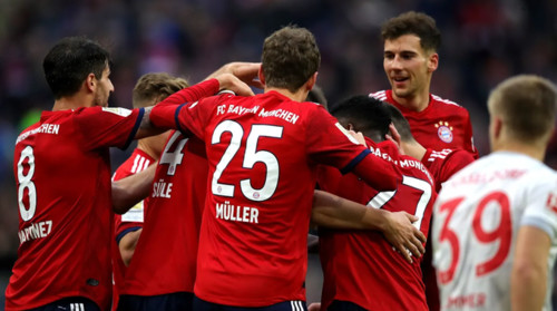 Бавария – Фортуна – 3:3. Видео голов и обзор матча