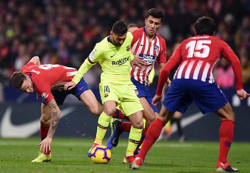 Атлетико - Барселона - 1:1. Видео голов и обзор матча