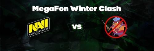Natus Vincere выступит на MegaFon Winter Clash