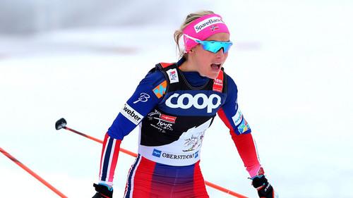 Йохауг выиграла первую гонку после возвращения в Кубок мира