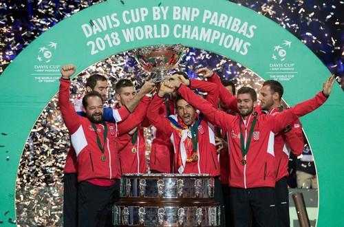 Хорватия выиграла финал Кубка Дэвиса