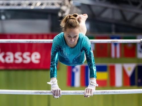 Украинские гимнасты выиграли медали на этапе КМ в Германии