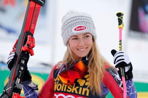 Шиффрин выиграла второй слалом сезона