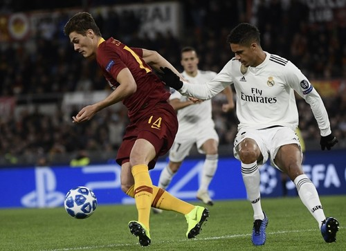 Рома — Реал Мадрид — 0:2. Текстовая трансляция матча