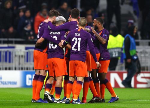 Манчестер Сити сыграл вничью с Лионом и вышел в плей-офф ЛЧ