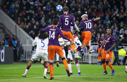 Лион – Манчестер Сити – 2:2. Видео голов и обзор матча