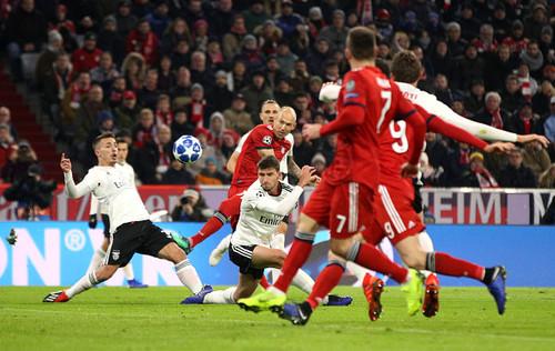 Матч бавария бенфика футбол