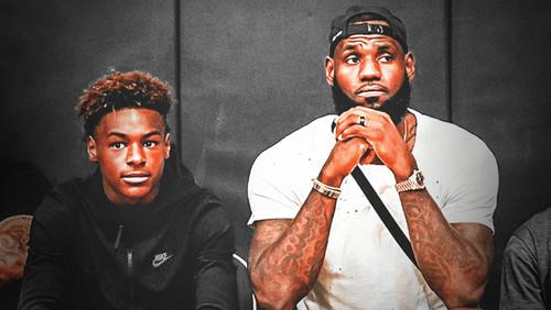 Леброн Джеймс хочет сыграть в НБА вместе со своим сыном