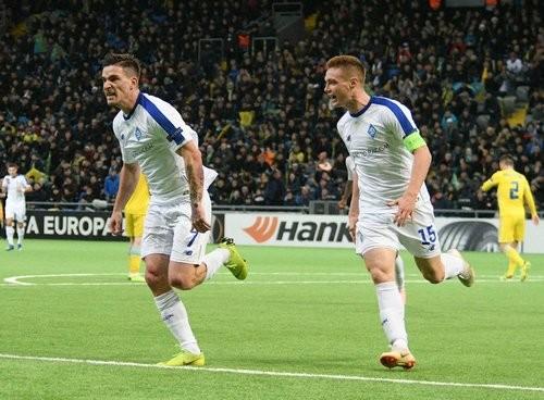 Динамо досрочно вышло в плей-офф Лиги Европы, Украина разбила Словению