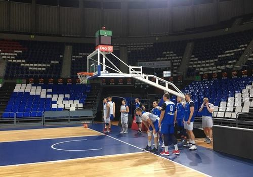 Збірна України провела тренування на Тенерифе