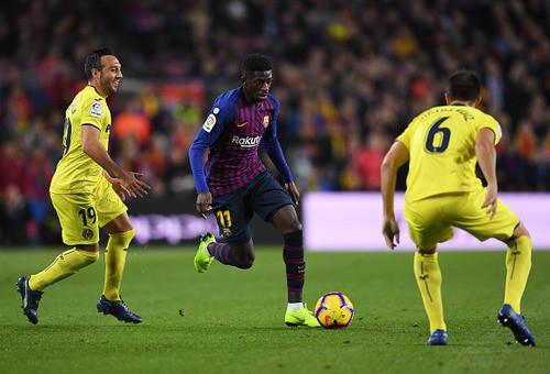 Барселона без проблем обыграла Вильярреал