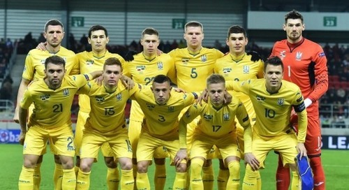 Стал известен календарь матчей сборной Украины в отборе на Евро-2020