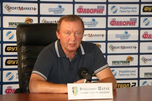 Владимир ШАРАН: «Приятно находиться на втором месте»