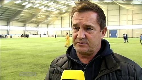 Рианчо посетил матч Динамо – Черноморец