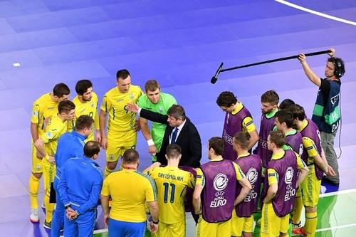 Сборная Украины по футзалу сыграет с Чехией 30-31 января