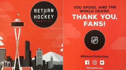 В НХЛ будет новая команда. Вся информация о новичке из Сиэттла
