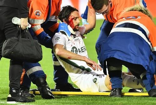 Суботич потерял сознание прямо на поле после тяжелого удара в голову