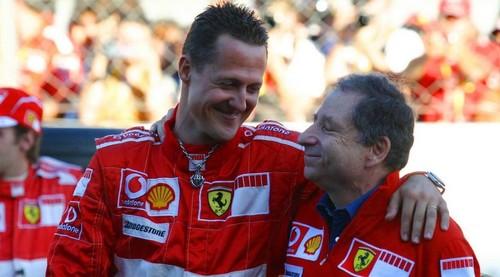 Жан ТОДТ: «Смотрел Гран-При Бразилии вместе с Михаэлем Шумахером»