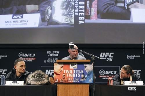 UFC 231. Макс Холлоуэй – Брайан Ортега. Прогноз и анонс боя