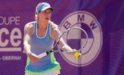 Ольга Савчук проигрывает в последнем матче в карьере
