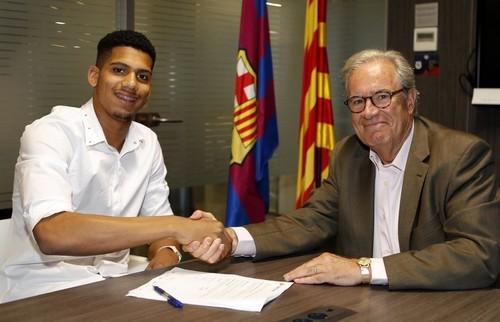 Барселона подписала капитана молодежной сборной Уругвая