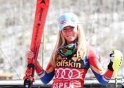 Шиффрин выиграла второй супергигант подряд