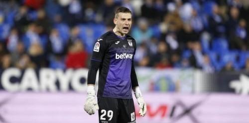 Леганес без Лунина сыграл вничью в матче Ла Лиги