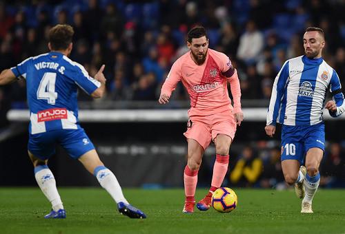 Эспаньол - Барселона - 0:4. Текстовая трансляция матча