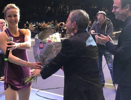 Свитолина вновь пробилась в финал выставочного турнира во Франции