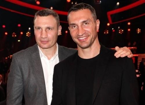 Братья Кличко помогли собрать 18 млн евро на благотворительном вечере