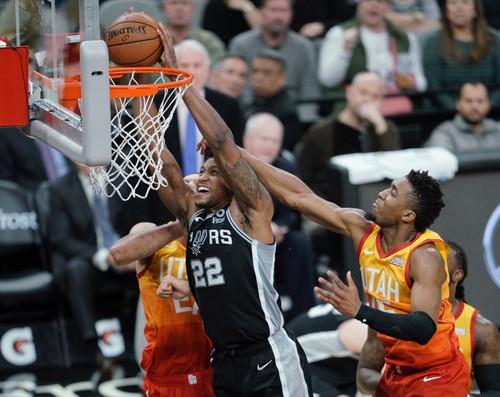 Два ярких слэм-данка Руди Гея - в топ-5 дня НБА
