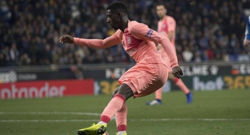 Барселона оштрафовала Дембеле на 100 тысяч евро