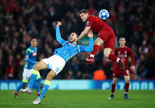 Ливерпуль обыграл Наполи и квалифицировался в плей-офф Лиги чемпионов