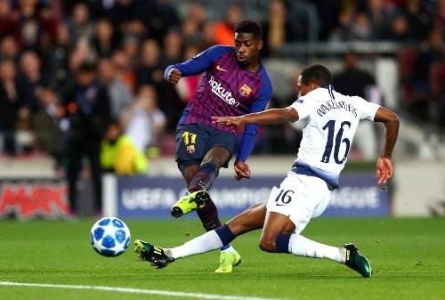 Барселона и Тоттенхэм сыграли вничью на Ноу Камп
