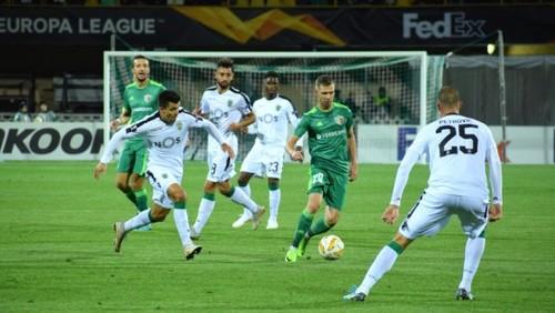 Где смотреть онлайн матч Лиги Европы Спортинг – Ворскла