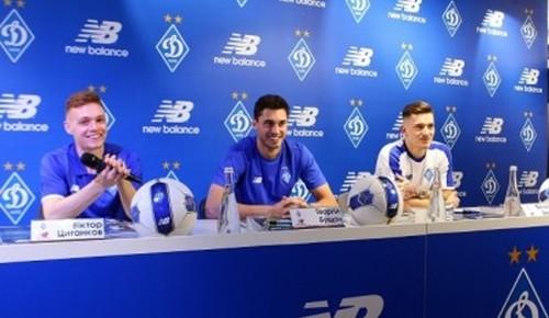 Игроки Динамо приняли участие в автограф-сессии